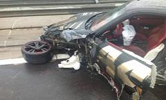 porsche 911 turbo crashed during 2013 gumball 3000