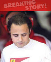 Massa unhurt but Ferrari face test